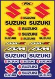 Planche de stickers FX Suzuki planche auto collants