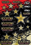 PLANCHE STICKERS FACTORY EFFEX ROCKSTAR GOLD planche auto collants