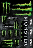 Planche de stickers Monster FX planche auto collants