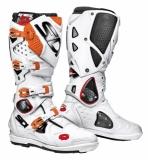 Bottes SIDI Crossfire SRS 2  Blanc orange  bottes