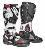 Bottes SIDI Crossfire SRS 2  Blanc noir  bottes