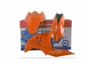 Kit plastiques Polisport couleur origine KTM 450 SX-F 2007 à 2010 plastique polisport