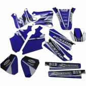 kit deco flu desings pro team  250 YZ-F 1998-2015 kit deco