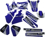 kit deco flu desings pro team  YZ-F 400/426  1998-2002 kit deco