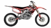 kit deco complet flu desings TS1 450 CRF  2009-2012 kit deco