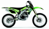 kit deco complet flu desings TS1  250 KX-F  2006-2008 kit deco