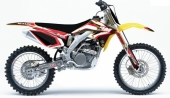 kit deco complet flu desings TS1 250  RMZ   2007-209 kit deco