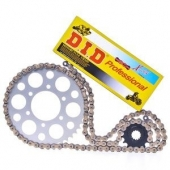 KIT CHAINE DID RENFORCES HONDA 250  CR-F 2010-2013 kit chaine