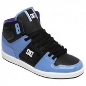 BASKETS DC Shoes Factory Hi turquoise black baskets
