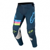 Pantalon Cross ALPINESTARS Techstar Venom NAVY AQUA/ROSE FLUO 2020 maillots pantalons