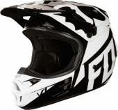 Casque FOX  FOX V1 Race NOIR  2018 casques