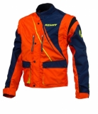 VESTE KENNY TRACK  BLEU/ORANGE FLUO 2016 vestes