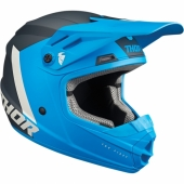 CASQUE THOR YOUTH SECTOR BLADE CHARCOAL/BLANC 2020 casque kids