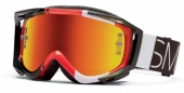 Lunettes Smith Fuel V.2 Sweat-X Fire Blockhead lunettes