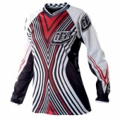 MAILLOT FEMME TLD GP AIR NOIR/ROUGE maillot pantalon femme