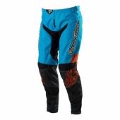 PANTALON FEMME TLD GP SAVAGE 13 BLEU ORANGE maillot pantalon femme