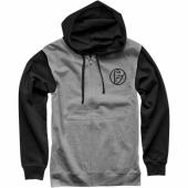 SWEAT THOR ICONIC ZIP-UP GRIS / NOIR sweatshirt