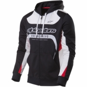 SWEAT ALPINESTARS SESSION ZIP UP FLEECE HOODY NOIR  sweatshirt
