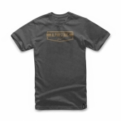 T-SHIRT ALPINESTARS  EMBLEMATIC CHARCOAL  tee shirt