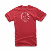 T-SHIRT ALPINESTARS TACH ROUGE tee shirt