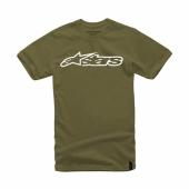 T-SHIRT ALPINESTARS BLAZE MILITARY tee shirt