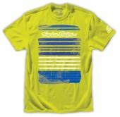 TEE SHIRT TLD Skyline tee neon yellow tee shirt