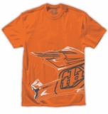 TEE SHIRT TLD Helmet tee orange tee shirt