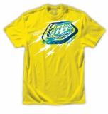 TEE SHIRT TLD Bolts tee yellow tee shirt
