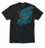 TEE SHIRT TLD Abstract tee black tee shirt