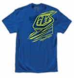 TEE SHIRT TLD Abstract tee royal blue tee shirt