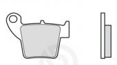 Plaquettes de frein arrière BREMBO SD/SX 450 CR-F 2013-2016 plaquettes de frein
