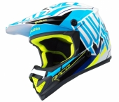 CASQUE PULL-IN  BLEU/ORANGE FLUO 2017 casques