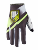 GANTS CROSS PULL- IN  Challenger GRIS/LIME 2018 gants