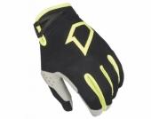 GANTS FIRST DATA EVO NOIR/JAUNE FLUO  gants