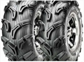 PNEUS ARRIERE MAXXIS ZILLA MU01 taille 26x11-12 pneus  quad maxxis