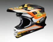 Casque cross SHOEI VFX Turmoil TC8 casques