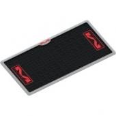 tapis de paddock M 4 FLOOR NOIR 61 X 122cm tapis de paddock