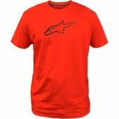 TEE SHIRT ALPINESTARS AGELESS ROUGE 2019 tee shirt