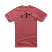 TEE SHIRT ALPINESTARS AGELESS  II ROUGE 2019 tee shirt