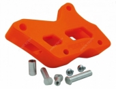 PATIN DE CHAINE RACETECH TEFLON ORANGE FE/FS 250 2009-2014 patin chaine en teflon