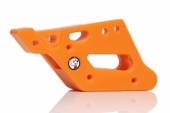 PATIN DE CHAINE RACETECH TEFLON ORANGE KTM  EX-C  2008-2014 patin chaine en teflon