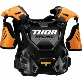 PARE PIERRE THOR GUARDIAN ORANGE/NOIR protections kids