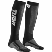 chaussettes thor MX SOCKS STEEL/ORANGE jambieres chaussettes