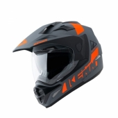 CASQUE KENNY EXTREME GRIS MATT/ORANGE casque quad