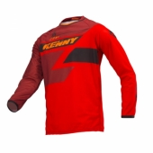 Maillot CROSS KENNY ENFANT Track GRIS/ROUGE 2018 maillot pantalon kids
