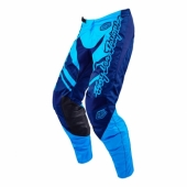 Pantalon Enfant Troy Lee Designs GP Flexion Cyan Bleu maillot pantalon kids