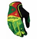 Gants Troy Lee Designs XC Cosmic Camo Jaune Vert gants