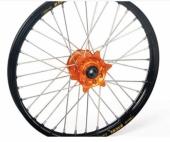 ROUE AVANT HANN WEELS Jante Noire Moyeu Orange 250 SX-F 2013-2014 roue jante