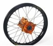ROUE ARRIERE HANN WEELS Jante Noire Moyeu Orange 250 SX-F 2013-2014 roue jante