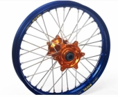 ROUE AVANT HANN WEELS Jante Bleue / Moyeu Orange 250 SX-F 2013-2014 roue jante